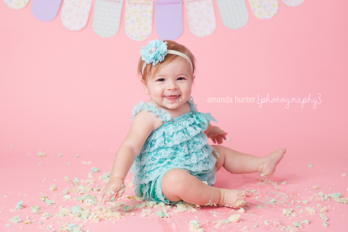 Cake Smash Tallahassee Studio Photographer
