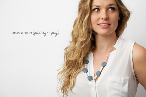 Teething Necklace Studio Shoot
