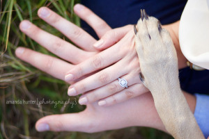 Couple with Dog Photographer in Tallahassee