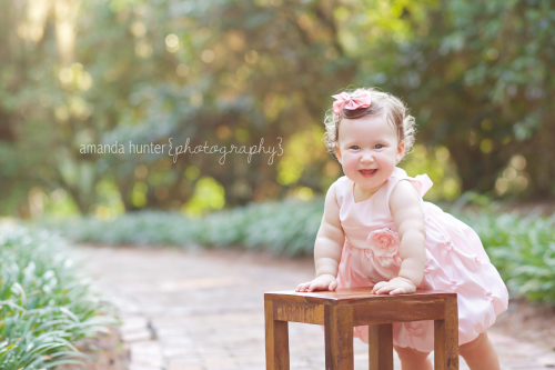 First Birthday at Maclay Gardens
