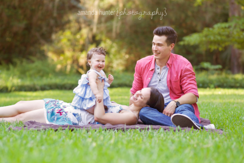 Family Portrait with Amanda Hunter Photography